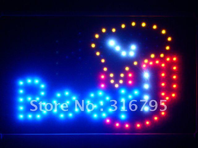 led071-b Beer Mug Cup Bar Pub LED Neon Sign WhiteBoard Wholesale Dropshipping(China (Mainland))