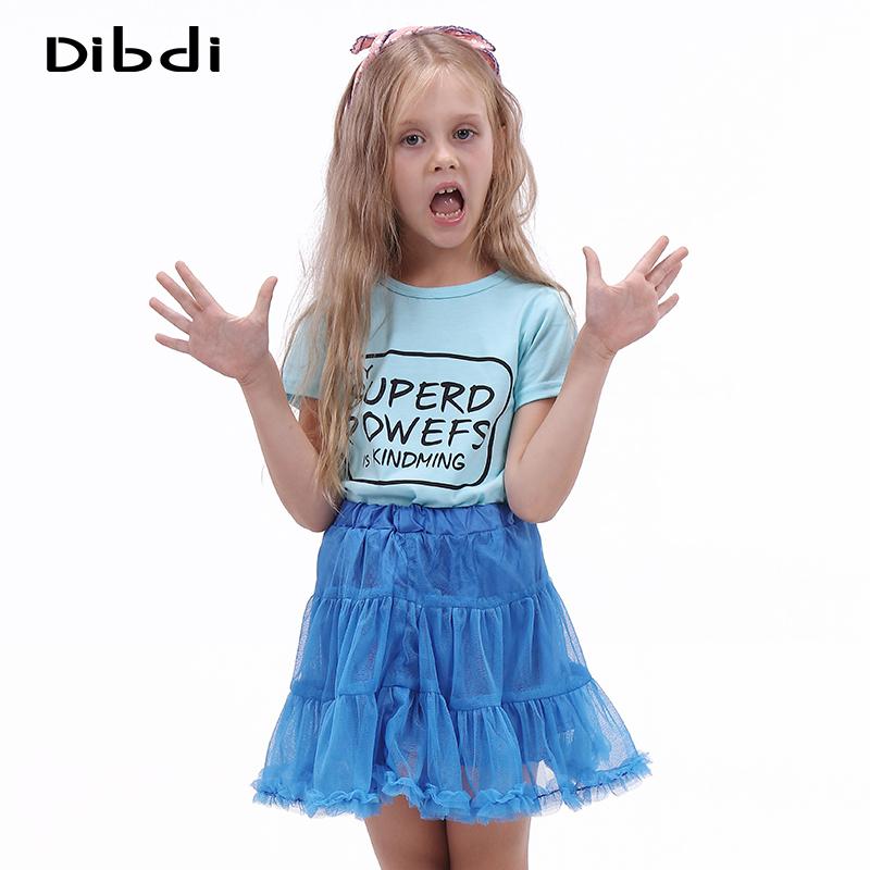 Summer Brand Girls Clothing Sets Children Clothes Toddler Girls Clothing Letter Print T-shirt &Tutu Pettiskirt Girls Set CF413(China (Mainland))