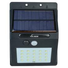 20 Led Solar Powered luz del Sensor de movimiento Solar exterior llevó las luces de inundación focos jardín Patio camino de iluminación de emergencia lámparas(China (Mainland))