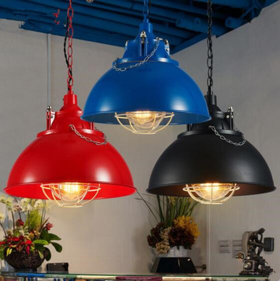 Retro nostalgia lighting industry wood American Cafe Bar Iron creative<br><br>Aliexpress
