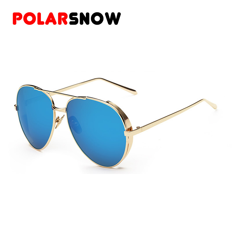 luxury sunglasses jtzs  POLARSNOW Fashion Metal Luxury Sunglasses Women Brand Design Vintage Sun  Glasses Ladies Classic Eyewear Shades Female 2016 Gafas
