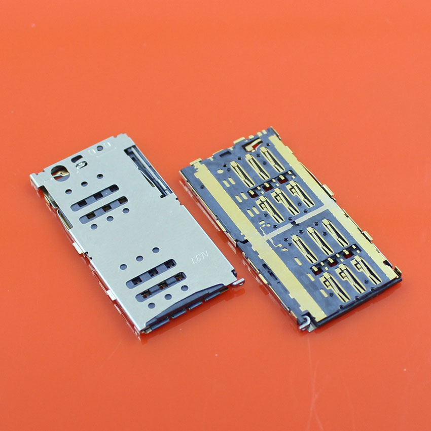 """1pcs New sim card slot adaptor Replacement Parts For MEIZU 5.5"""" Meilan note M1 M463U Mobile phone(China (Mainland))"""