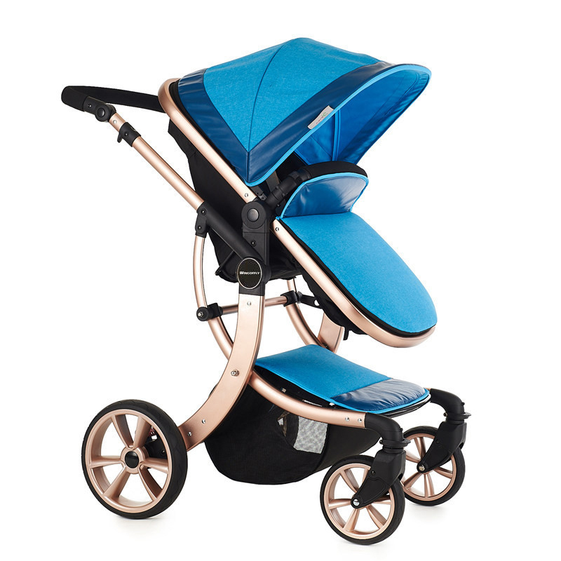 Folding Baby Stroller 2016 New Style,Baby Prams Pushchairs,Protable Stroller,Baby Travel System Fold Cart Baby Carriage<br>