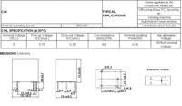 Реле 50 PCB 5V DC srd/s /105d