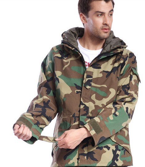 Army Jacket Quality 100% Cotton Jungle Camouflage Mens Hunting