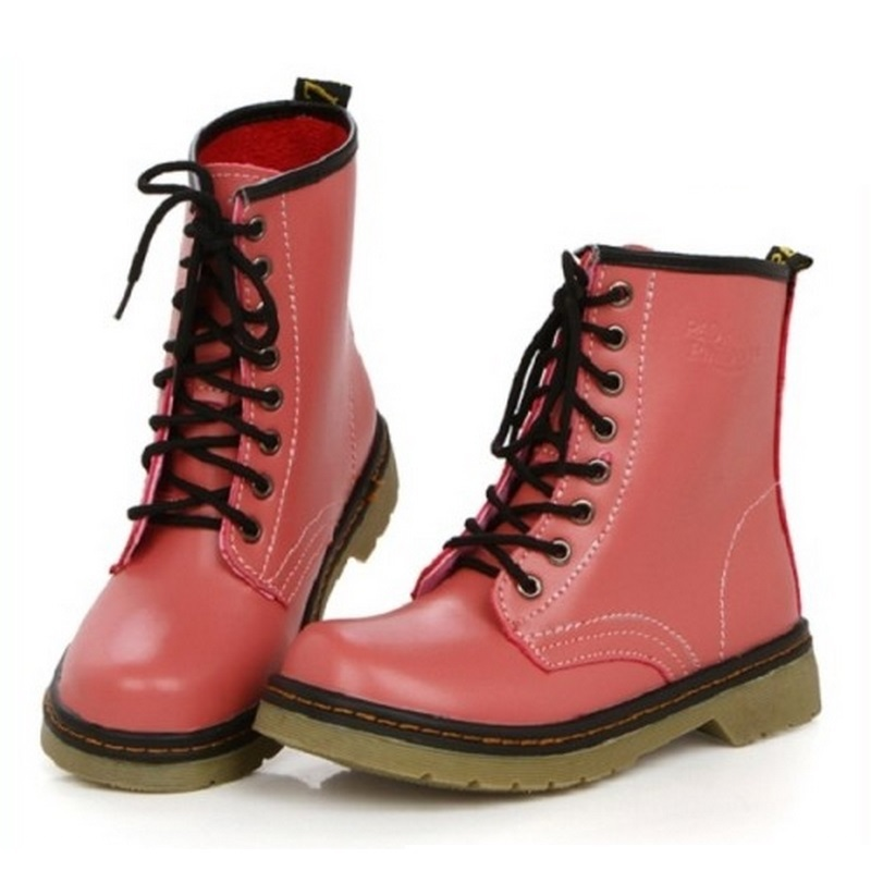 Гаджет  2014 women genuine leather boots,summer and winter martin fashion boots,flat vintage motorcycle boots high-top shoes None Обувь