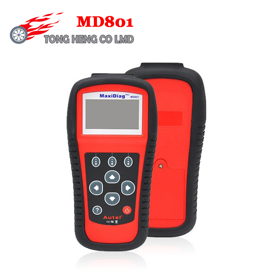 Hot Sell MD801 code reader scanner for OBD1 OBDII protocol DHL FREE(China (Mainland))