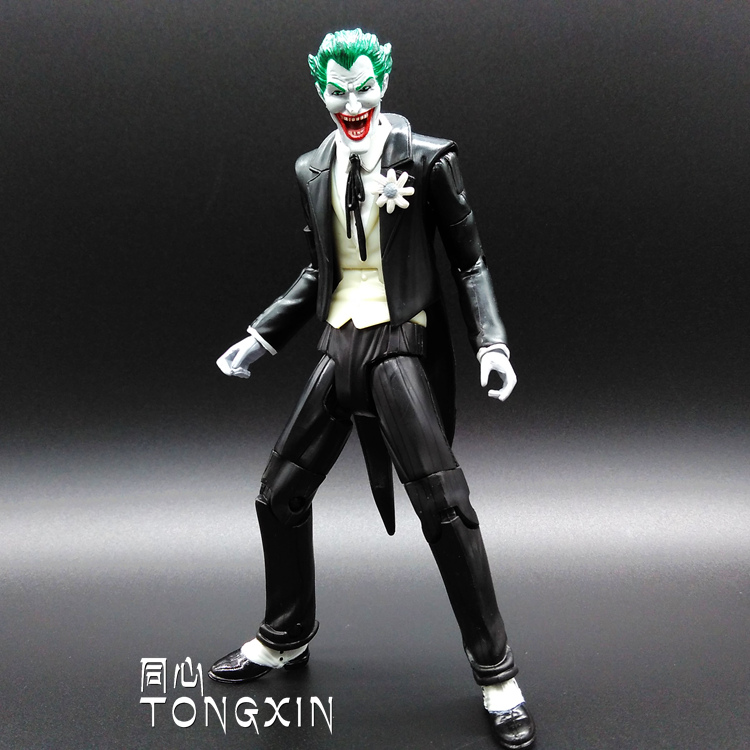 Arkham City Knight Batman Arkham Asylum Joker Toy Doll Ornaments Hand to Do H3<br><br>Aliexpress