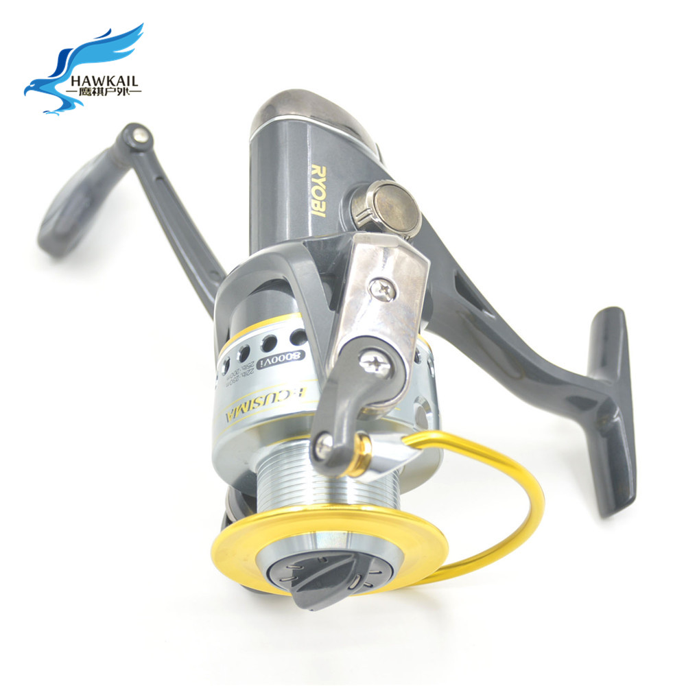 Hot !!! 2016 High Quality 5.1:1 Electroplate Spinning Fishing Reel Carp Fishing Wheel Spinning Reel for Sea Fishing<br><br>Aliexpress
