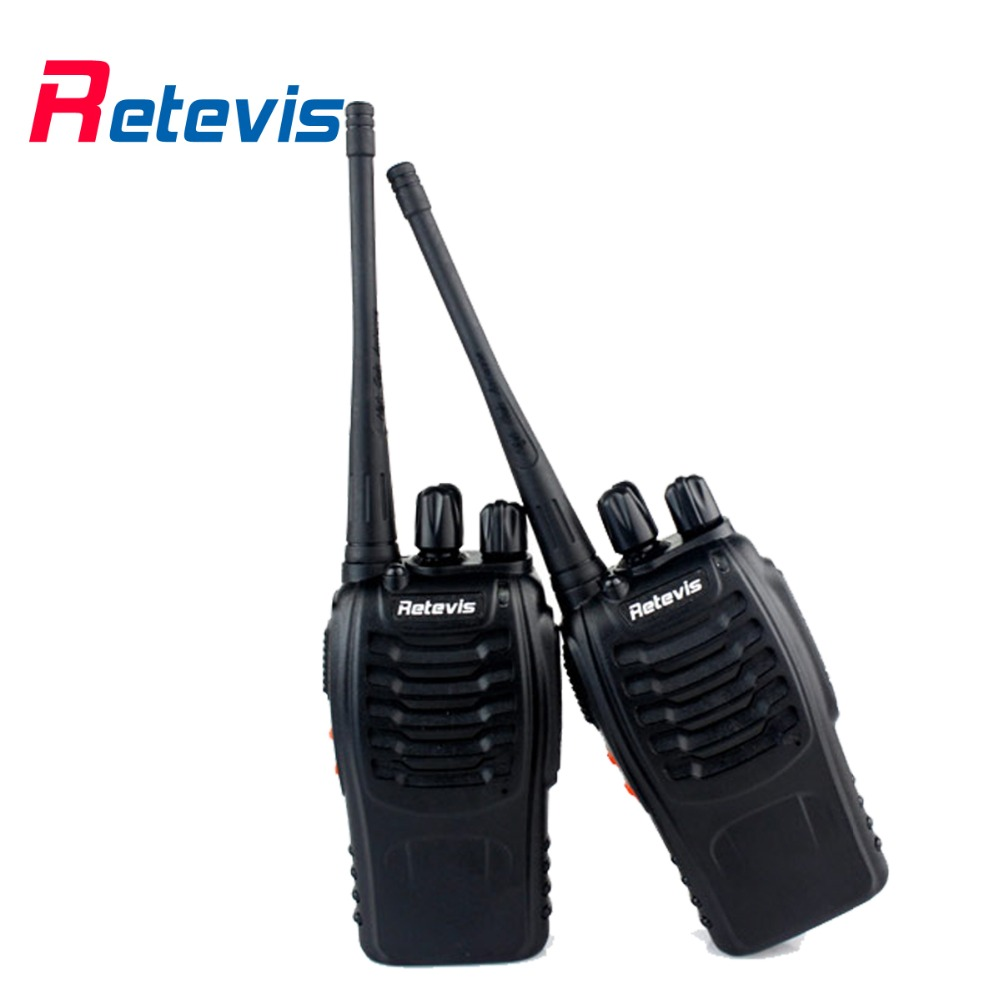 2 pcs Retevis H777 Walkie Talkie 5W UHF 400-470MHz 16CH Portable Ham Radio Transceiver A9105A(China (Mainland))