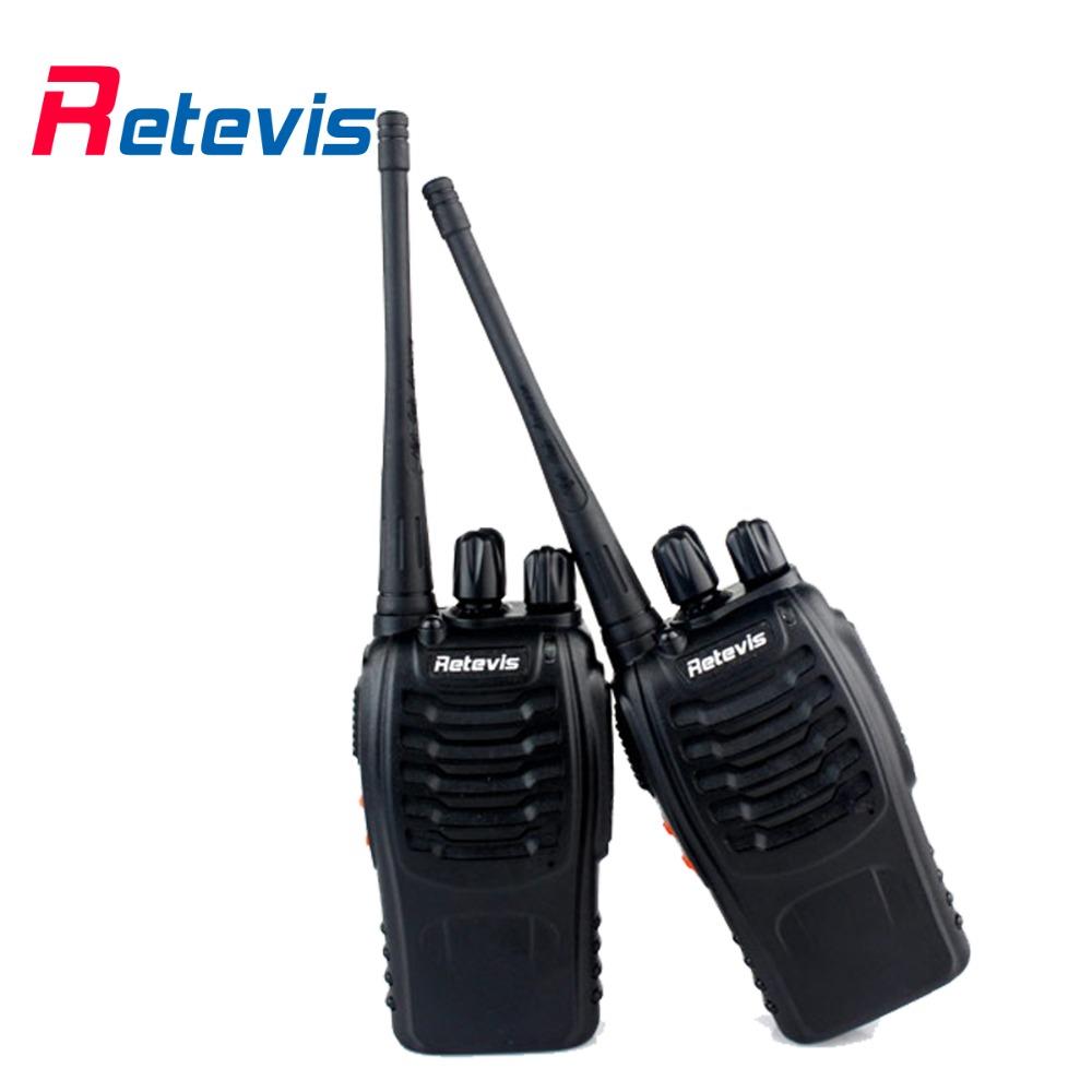 2 pcs Retevis H777 Walkie Talkie 5W UHF 400-470MHz 16CH Portable Ham Radio Transceiver A9105A(China (Mainland))