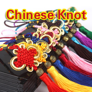2016 High Quality Chinese Knot Lucky Knot Tassel Chinese style Gift Hand Crafts Jade knot Special gift Free shipping(China (Mainland))