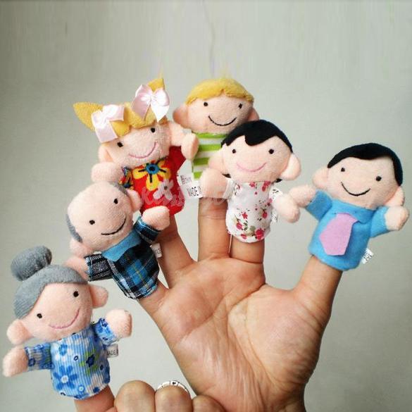 Кукла на пальцы своими руками