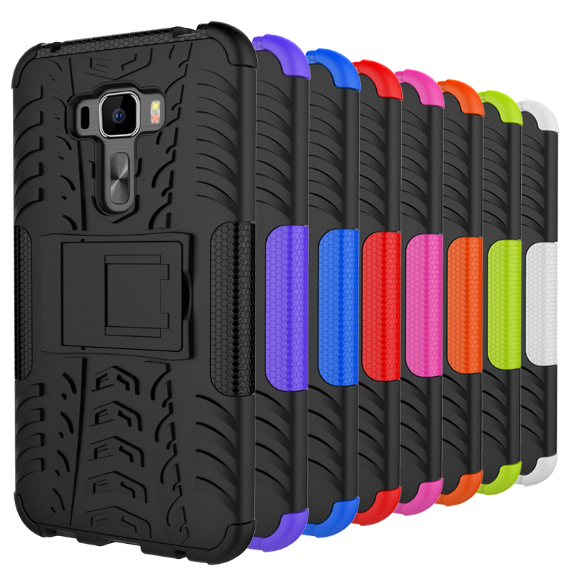 Asus Zenfone 3 Ze552kl Case Zenfone 3 Ze552kl Cover Z010d Z012d Anti Knock Tpu Silicone Combo Mix Hybrid Protective Cover Coque(China (Mainland))