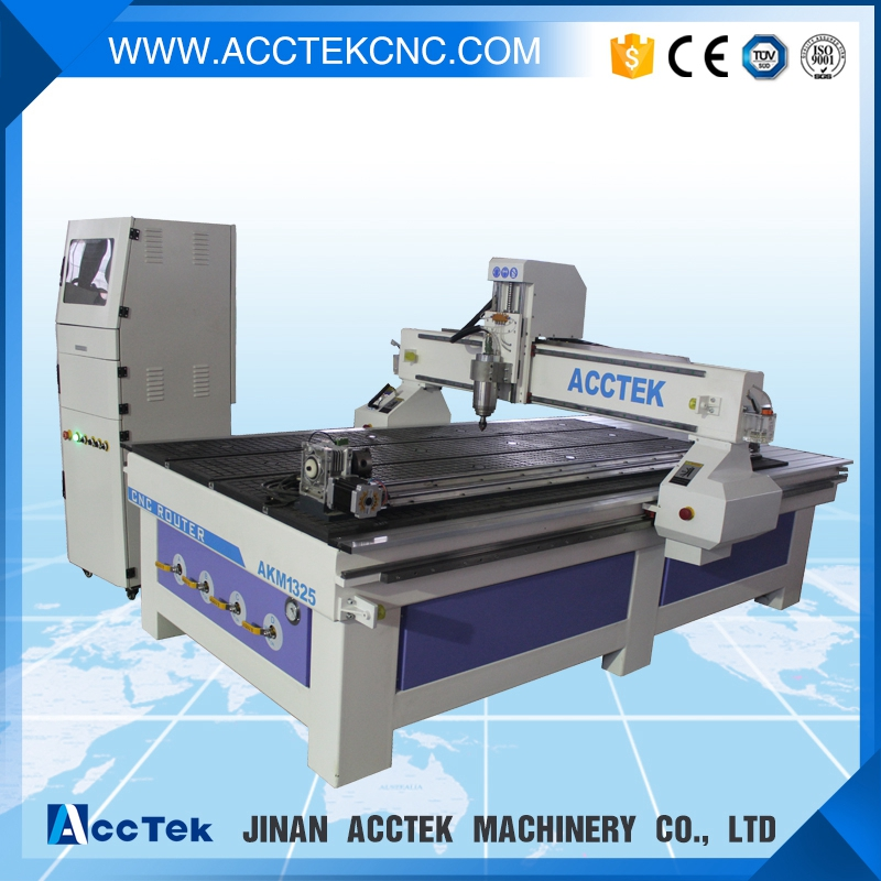 4 axis cnc machine AKM1325 full Automatic CNC router furniture production line with drill cutting(China (Mainland))