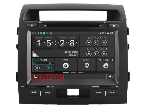 japanese used cars toyota landcruiser Radio GPS Navigation DVD Stereo for For TOYOTA LANDCRUISER 200 WINCE6.0(China (Mainland))