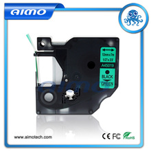 Buy 10Pcs/Pack 45019 Dymo D1 Label Tape 12MM Black Green Compatible DYMO Label Maker for $47.54 in AliExpress store