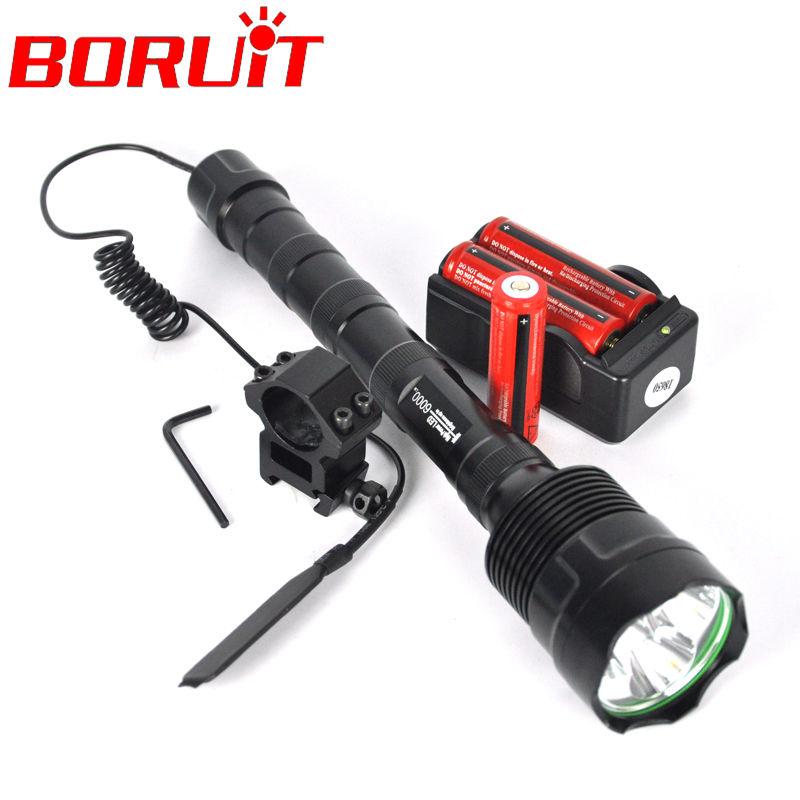 Trustfire 3T6 Flashlight 5 Mode 6000 LM 3x  XM-L XML T6 Tactical LED Flash light 18650 Battery Extendable High Power Torch Hunt<br><br>Aliexpress