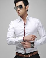 Мужская повседневная рубашка 3Size XS, S, M, 3Colours ,  6059