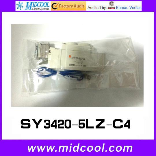 Фотография 5 way pilot solenoid valve SY3420-5LZ-C4