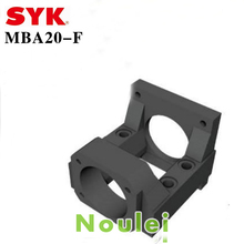 Taiwan SYK Motor Bracket MBA type ( MBA20 ) MBA20-F Black for NEMA34 and FKA20 suitable for ball screw 25 diameter(China (Mainland))
