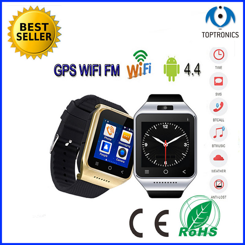 2016 New Product SmartWatch With Wifi 5M camera Camera Mobile Phone Touch screen 3g WCDMA GPS Bluetooth Android GPS Watch Phone(China (Mainland))