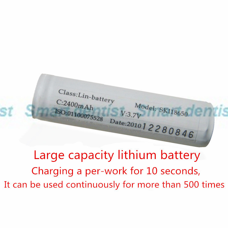 2016 Li-ion battery for led curing light with large capacity(China (Mainland))