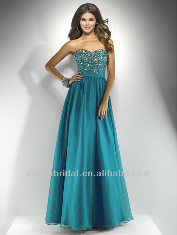 Teal Blue Prom Dresses - Holiday Dresses