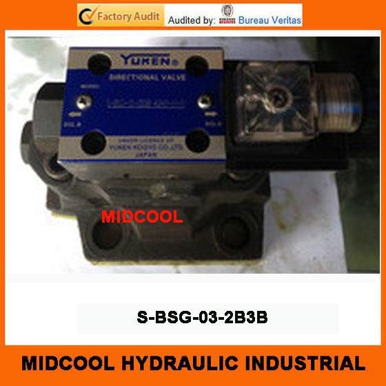 Фотография high quality hydraulic valve S-BSG-03-2B3B