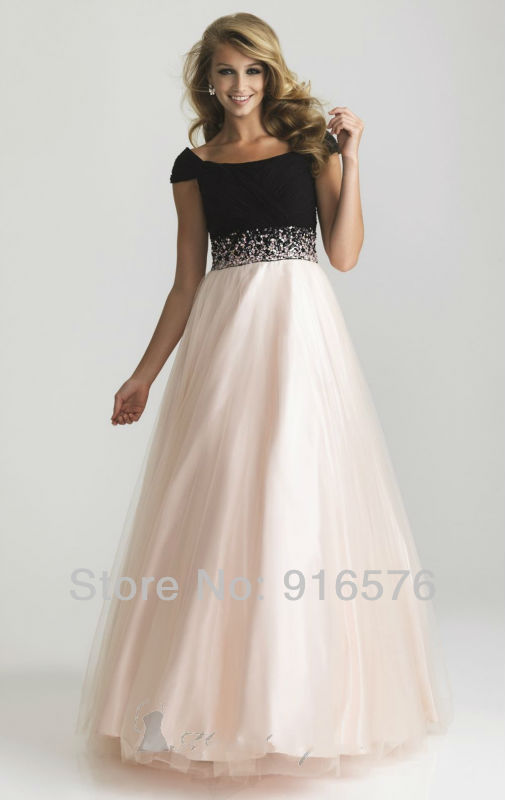 Appglecturas: Light Pink And Black Prom Dresses Images