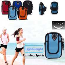 Sports Armband Pocket Mobile Phone Case Running Arm Band Wrist Belt Pouch Brazalete Fitness Bag For Huawei P9 P8 Lite/Lenovo P70(China (Mainland))