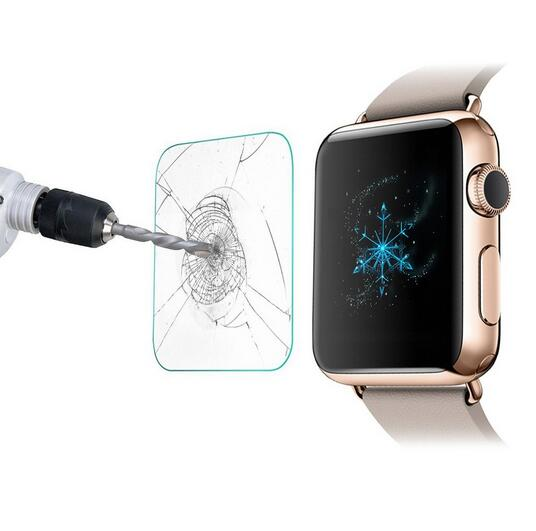 Free shipping Tempered Glass Screen Protector Anti shatter for i font b Watch b font font
