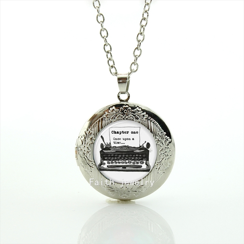 The chapter one case for Once upon a Time art picture pendant necklace jewelry accessories for man women and girls HH177(China (Mainland))