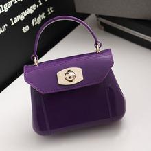 Women Messenger PVC Handbags Candy Color Handbag Jelly Phone Sandy Beach Mini Bag Summer Girls Crossbody Bags