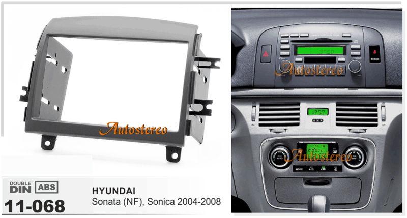 Car dvd player Radio fascia for HYUNDAI Sonata (NF) Sonica 2004-2008(China (Mainland))
