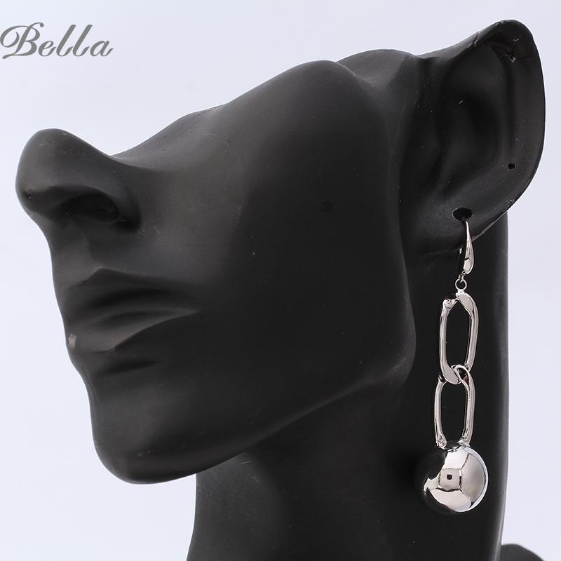 free shipping bohemian brand jewelry steampunk Women crystal rhinestone Dangle long earrings wedding women (E0433)(China (Mainland))