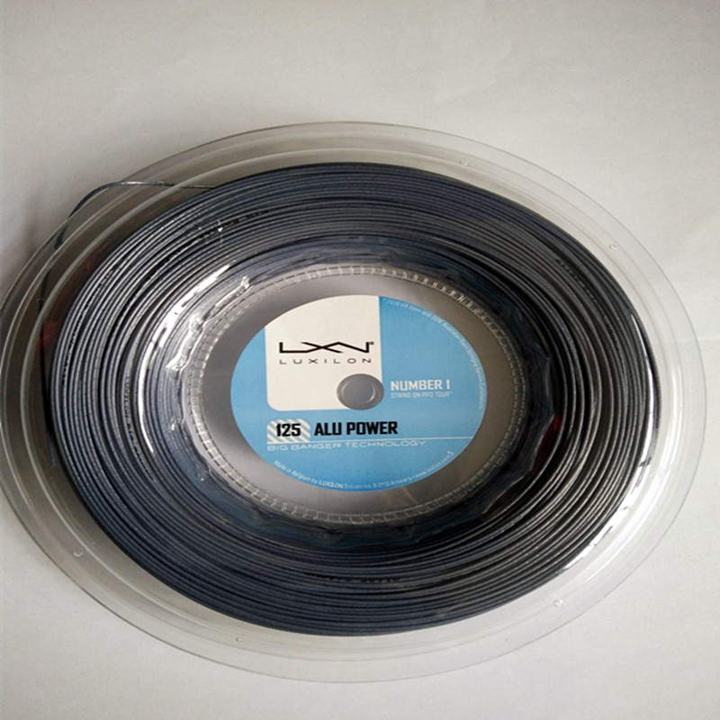 Фотография New arrival Luxilon tennis string Alu power 125 best price high quality tennis racket string promotion Luxilon tennis string