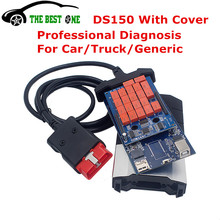 Free Activate 2014.R3 R2 New VCI DS150e No bluetooth DS150 TCS CDP PRO Plus LED 3 CARs TRUCKs Diagnostic Tool Multi Vehicle Diag(China (Mainland))