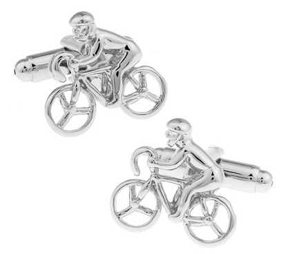 Fashion Jewelry HOT HOT Shirt Cufflink For Mens Gift Brand Cuff Button Silver Cycling And Skateboard Cuff Link High Quality(China (Mainland))
