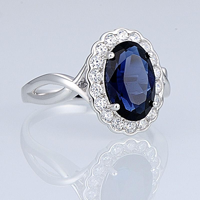 Silver Ring - R303546BLGZSL925-SV9