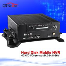 720 P автомобиля Nvr 4CH мобильный H.264 аналоговый HDD Mnvr поддержка водонепроницаемый ик-камеры IP ночного видения Mdvr