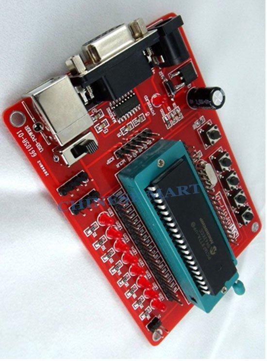 PIC Development Board + Microchip PIC16F877 PIC16F877A wholesale and retail #E09043