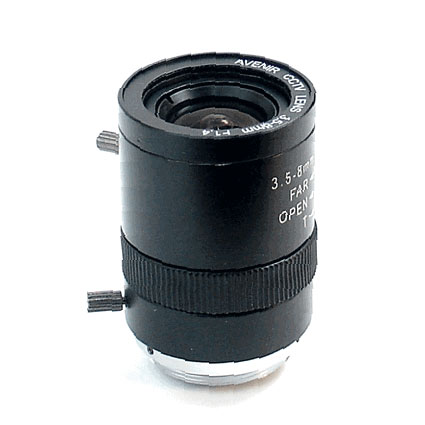 "3.5-8mm Varifocal Manual Iris CCTV lens 1/3"" CS F1.4 80~37Degree For CCTV Cameras (SL-3508M)(China (Mainland))"