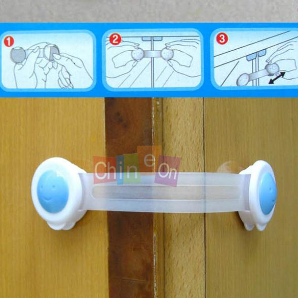 Long design drawer lock baby safety lock infant door and
