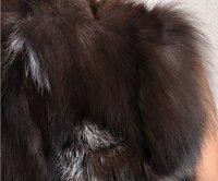 к 2015 году новых прибыл чистой silver fox пальто Силвер Фокс меха жилет женский жилет