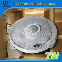Langma 2016 factory price Effective high brightness Energy-saving Safe and Stable human sensor led ceiling light(China (Mainland))