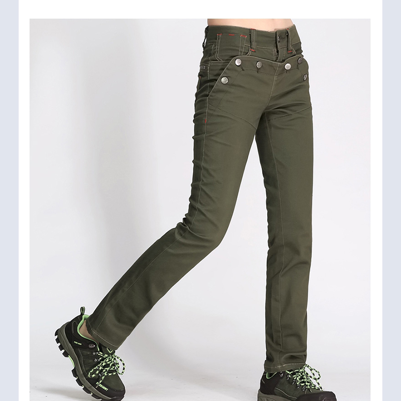 Wonderful Ladies Womens Army Military Green Camouflage Cargo Pants Jeans Combat