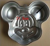 алюминиевый 1шт Микки формы торт Пан выпечки торт плесень плесень a046