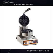 Rotary Round Waffle Baker ,Waffle machine HFX-01
