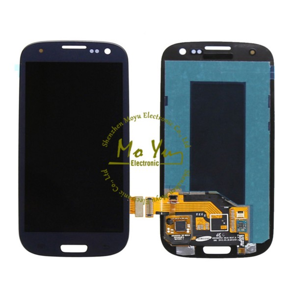 Dark Blue lcd screen replacement s3 para for samsung s3 i9305 touch screen digitizer for samsung galaxy s3 lcd screen i9305 OEM(China (Mainland))